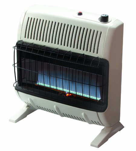 Mr. Heater 30,000 BTU Vent Free Blue Flame Natural Gas Heater+Mr. Heater