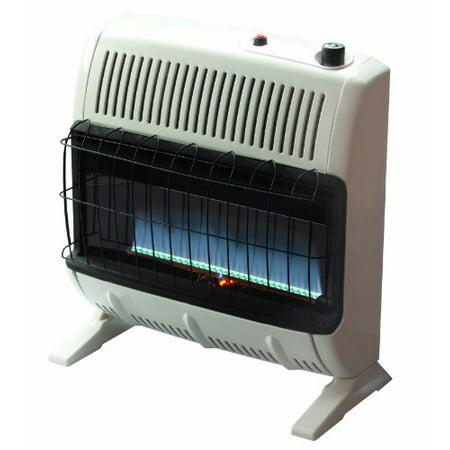 Mr. Heater 30,000 BTU Vent Free Blue Flame Natural Gas Heater+Mr. Heater