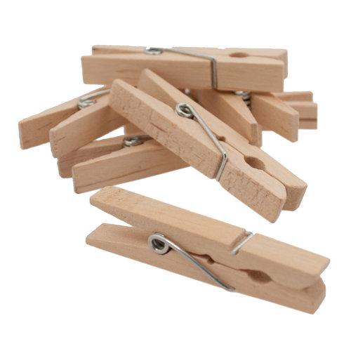Tung Yung International Medium Clothespins, 100ct
