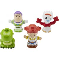 Little People Disney Pixar Toy Story Buzz, Jessie, Forky, & Rex Set