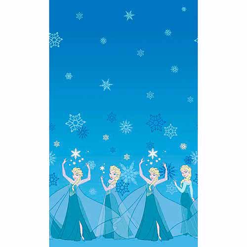 "Frozen, Elsa Mock Smock, Cotton, Blue, 21/22"" Wide Fabric by the Yard"