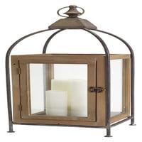 Melrose International Wooden Lantern
