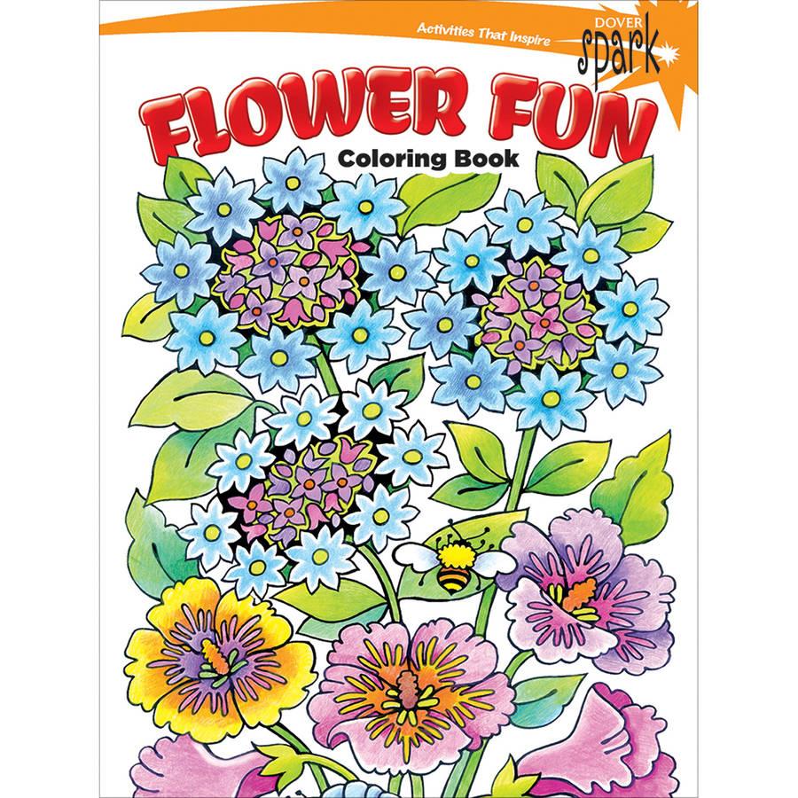 Dover Spark Publications Flower Fun