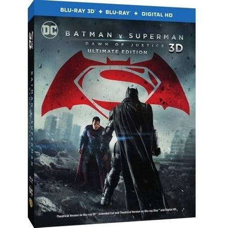 Batman V Superman Dawn Of Justice  3D Blu Ray   Blu Ray   Digital Hd With Ultraviolet