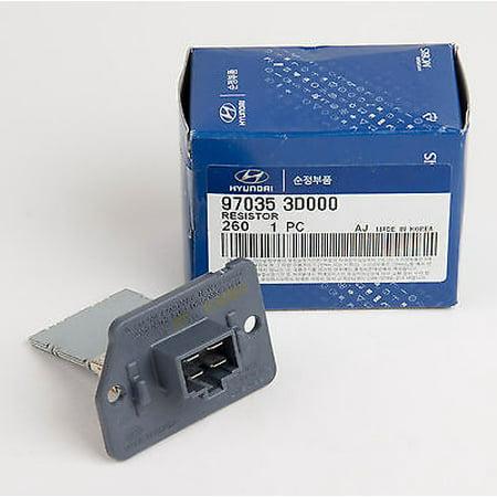 Genuine OEM Hyundai Kia HVAC Blower Motor Resistor 97035-3D000 ()