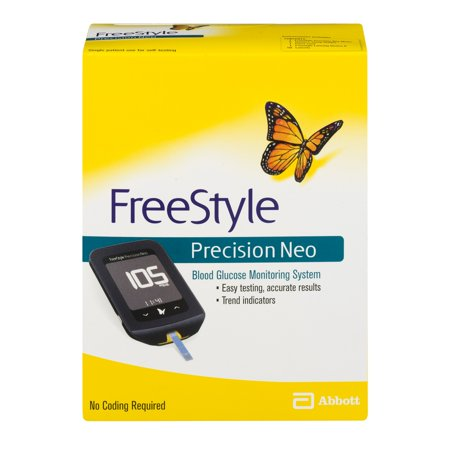 FreeStyle Precision Neo Blood Glucose Monitoring System 3636 Neo Neo Angle