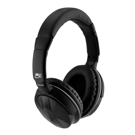 meelectronics air fi venture stereo bluetooth wireless wired headphones with microphone. Black Bedroom Furniture Sets. Home Design Ideas