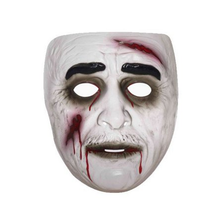 Cheap Zombie Halloween Masks (Transparent Zombie Mask Male Halloween Costume)