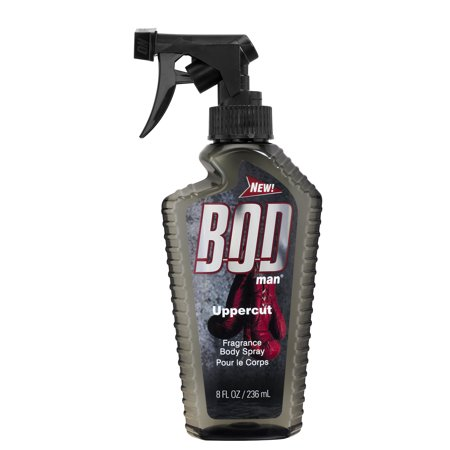 BOD Man Uppercut Fragrance Body Spray for Men, 8 fl