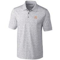 Virginia Cavaliers Cutter & Buck Big & Tall Advantage Space Dye Polo - Gray