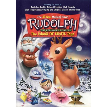 Pop Culture Graphics MOVEI8540 Rudolph The Red-Nosed Reindeer & The Island of Misfit Toys Movie Poster, 11 x 17