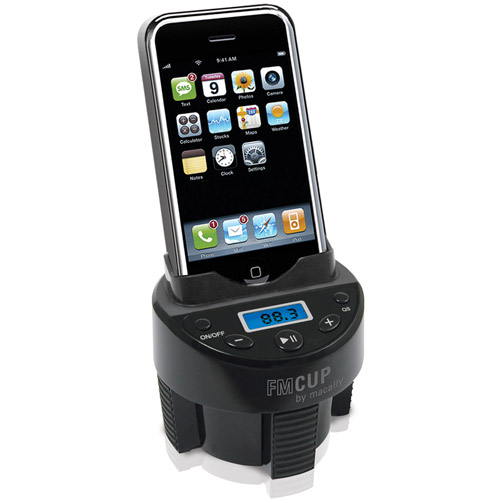 MCupMP Adjustable Automobile Cup Holder Mount for Small Devices