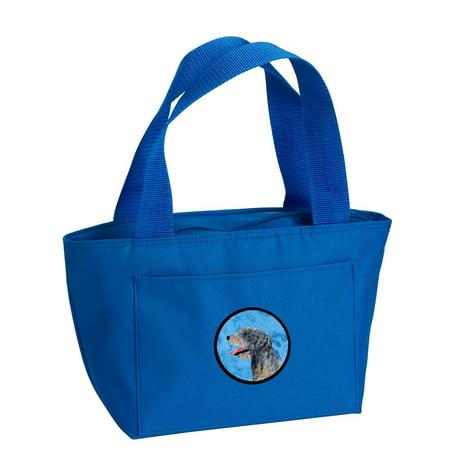 Blue Irish Wolfhound Lunch Bag or Doggie Bag SS4782-BU