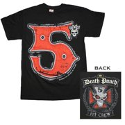 Five Finger Death Punch The Crew T-Shirt Small