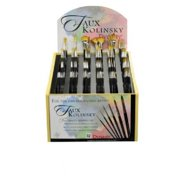 Dynasty FM36980D Synthetic Watercolor Brush Display Assortment