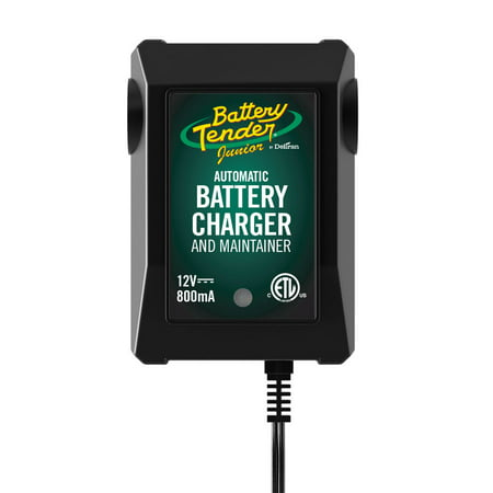 Battery Tender JR High Efficiency 800mA Battery Charger Car Battery Charger Set
