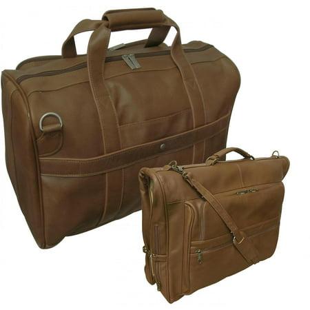 Amerileather Traveler 2 Piece Luggage Set