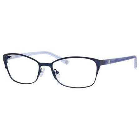 Liz Claiborne 605 Eyeglasses 0DA4 53 Satin Navy