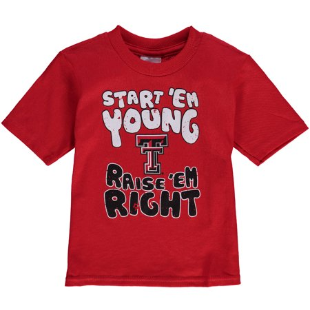 - Texas Tech Red Raiders Infant Start 'Em Young T-Shirt - Scarlet
