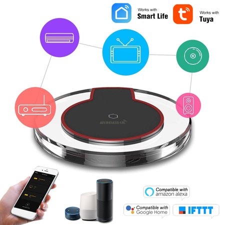 EACHEN WiFi-IR Remote IR Control Hub Wi-Fi(2.4Ghz) Enabled Infrared Universal Remote Controller For Air Conditioner TV DVD Using Tuya Smart Life APP Google Home IFTTT Voice Control