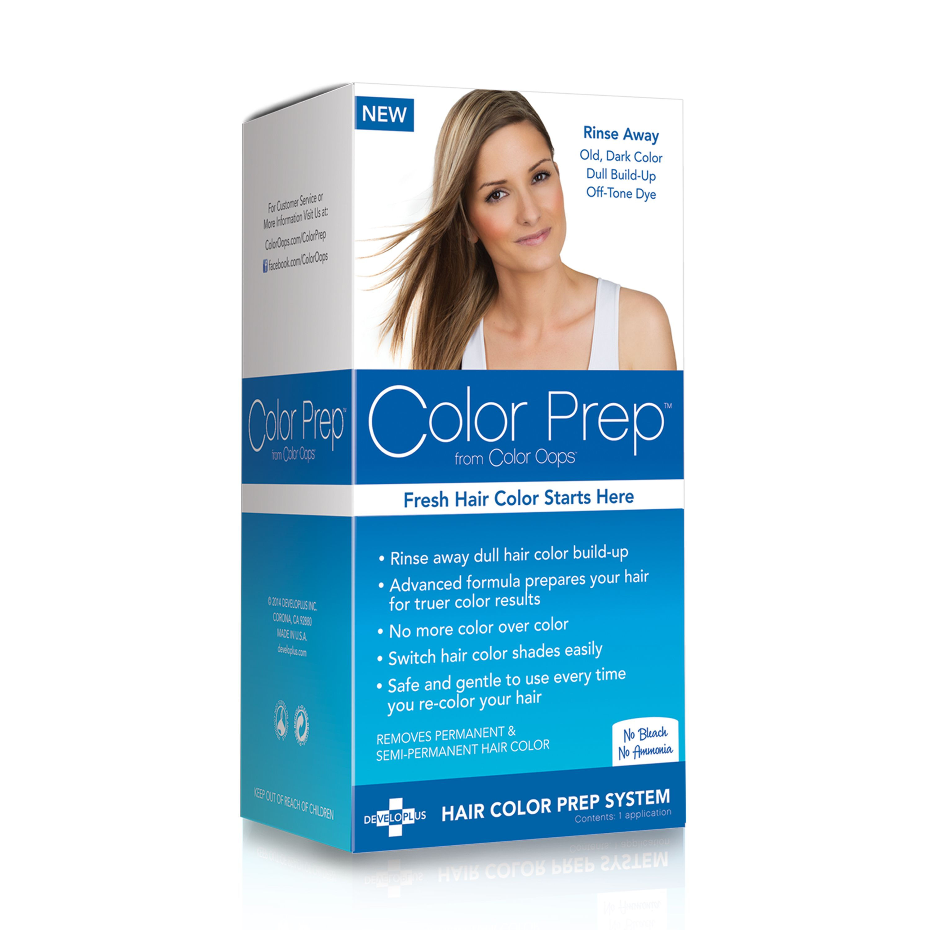 Color Prep from Color Oops Hair Color Build-Up Treatment