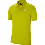 Nike Men's Sportswear Matchup Jersey Bright Cactus/White Polo Shirt Size XL