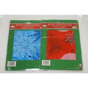 1 Heavy-Duty Giant Christmas Holiday Gift Bag 3 Styles