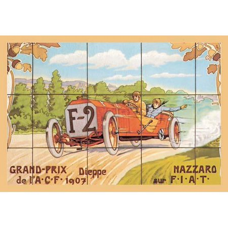 The 1907 French Grand Prix was a Grand Prix motor race held at Dieppe on 2 July 1907  Felice Nazzaro was an Italian racecar driver a native of Turin He won the Kaiserpreis in 1907 as well as the Frenc