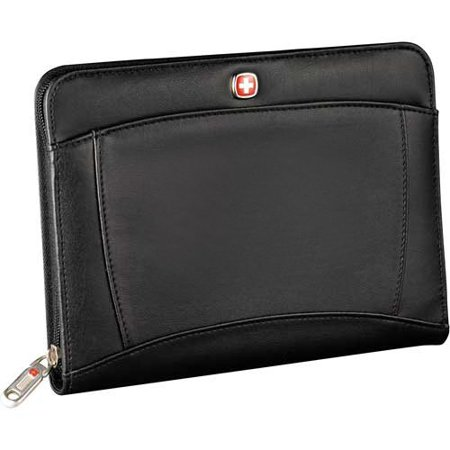 Wenger jr. Zippered padfolio note pad black Junior Zippered Padfolio
