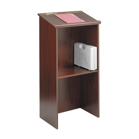 Stand-Up Lectern in Mahogany Finish