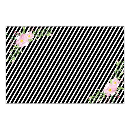 DB Party Studio 25 Count Paper Placemats Lovely Lavender Flowers Engagement Bachelorette Parties Bridal Shower Wedding Rehearsal Quick Cleanup Disposable Table Settings 17
