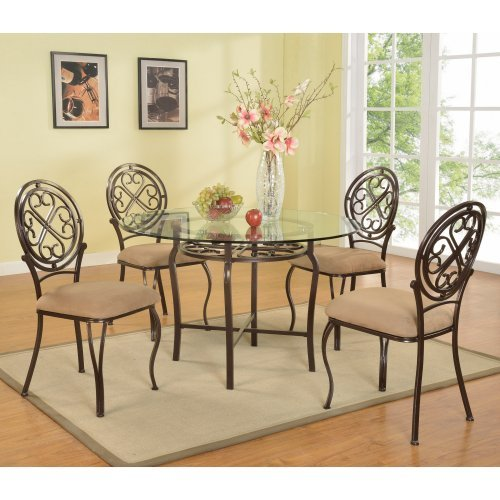 Chintaly Lily 5 Piece Dining Table Set