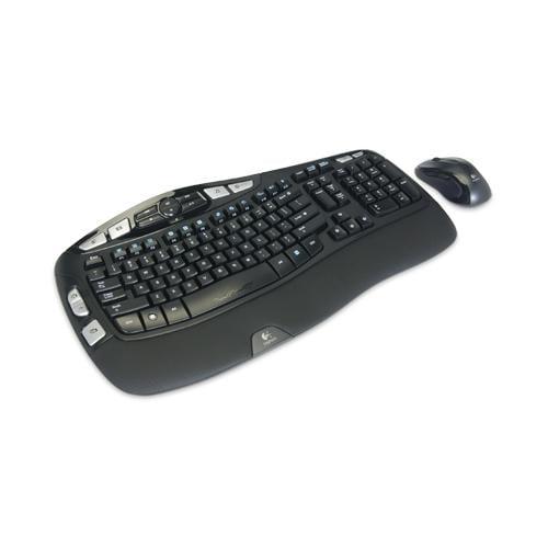 Logitech MK550 920-002555 Wireless Wave Mouse and Keyboard  -920-002555-CA