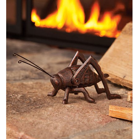 Cast Iron Hearth Cricket with Burnished Copper Finish ()