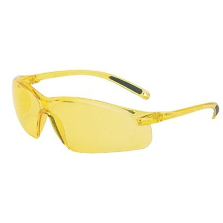 HONEYWELL UVEX Safety Glasses,Amber A702