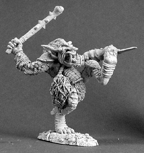 Reaper Miniatures Battle Troll #03087 Dark Heaven Legends Unpainted Metal Figure