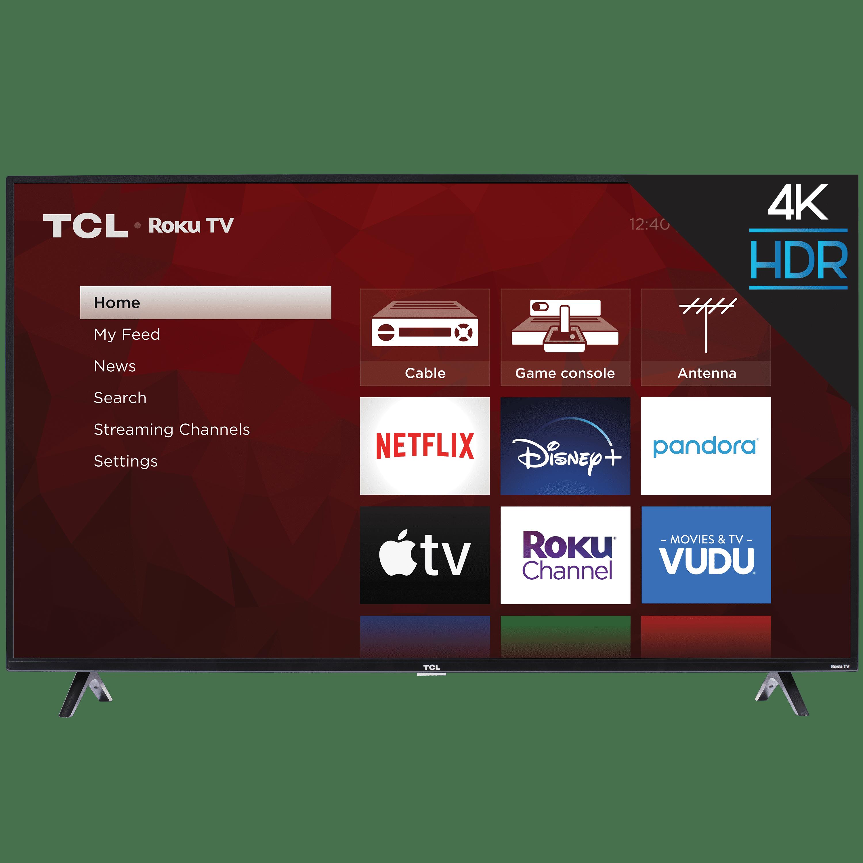 "TCL 55"" Class 4K UHD LED Roku Smart TV HDR 4 Series 55S421"