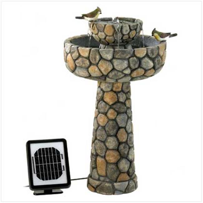 Sunrise Wholesale 12841 Wishing Well Solar Water Fountain