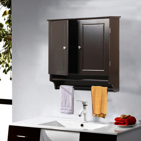 Wall Mount Cabinet Bathroom Storage Shelf Laundry Kitchen ...