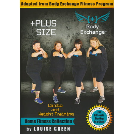 Plus Size Workout: Cardio & Weight Training (DVD)