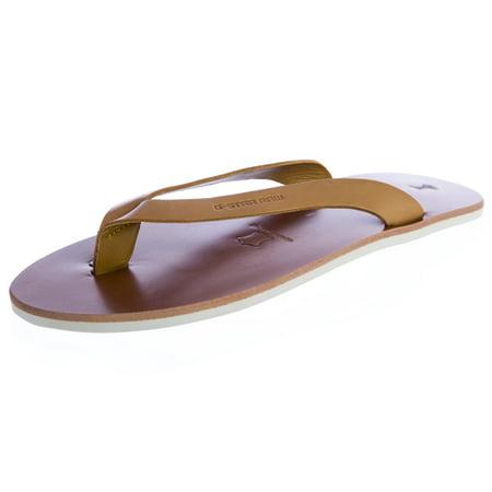 Raw Correct Line (G-STAR Raw Women's Correct Line Flip Flops Sandals GS83100/022 Size 6 Camel )