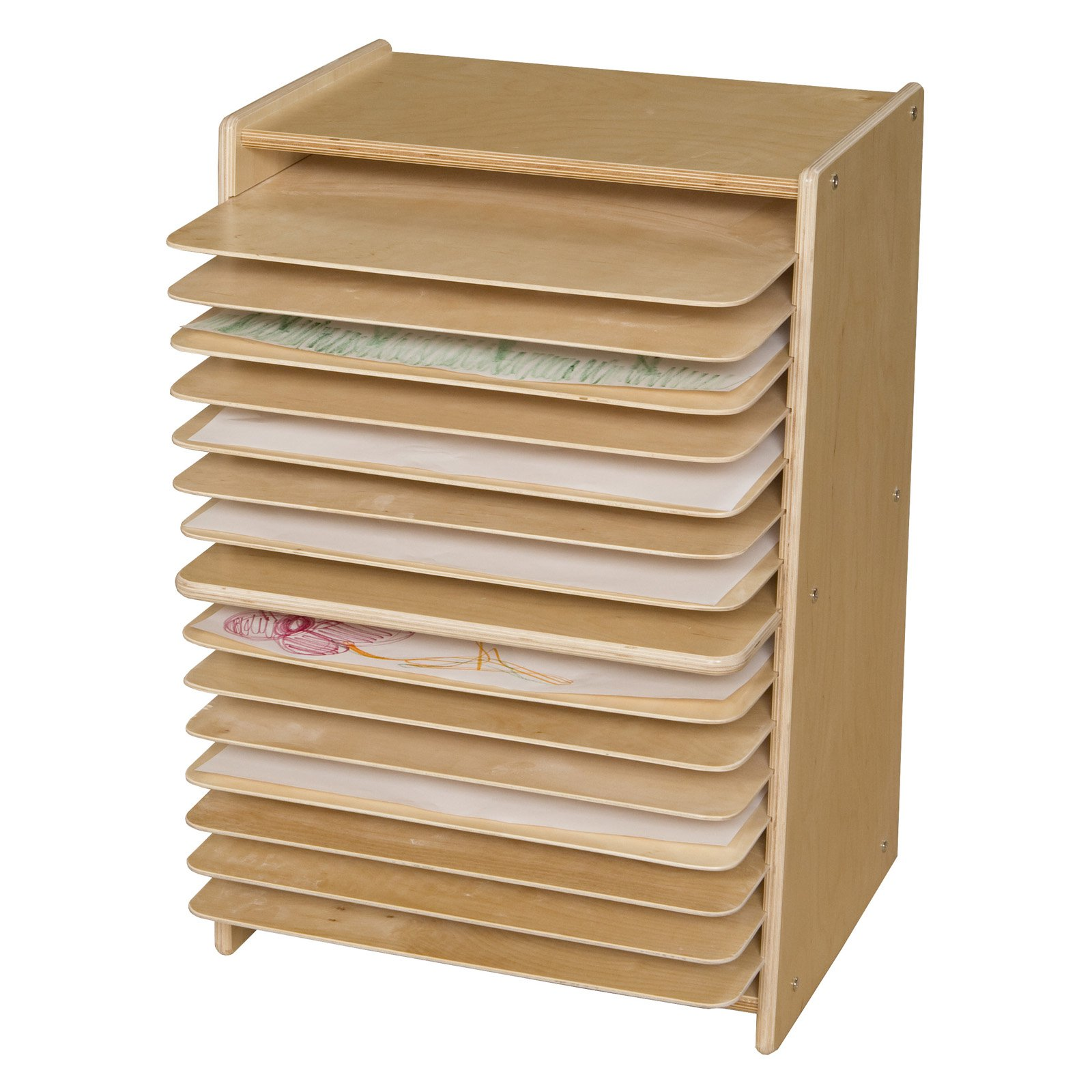 Wood Designs Contender Mobile Drying and Storage Rack