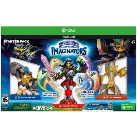 Skylanders Imaginators Starter Pack, Activision Blizzard, XBOX 360, (Best Xbox 360 Games For 8 Year Old Boy)