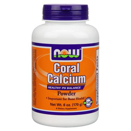 NOW Foods pH Le calcium de corail Support équilibre, 6 Oz