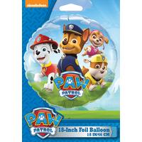 "Nickelodeon 18"" Paw Patrol Foil Balloon"