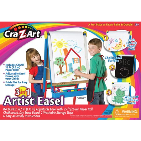 3-in-1 Wood Artist Easel