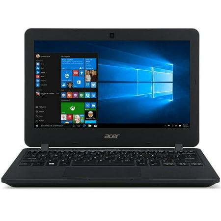 Acer TravelMate B Intel Celeron N3060 1.60GHz 4GB Ram 64GB Flash Windows 10 Pro (4 Gb Pro Flash)