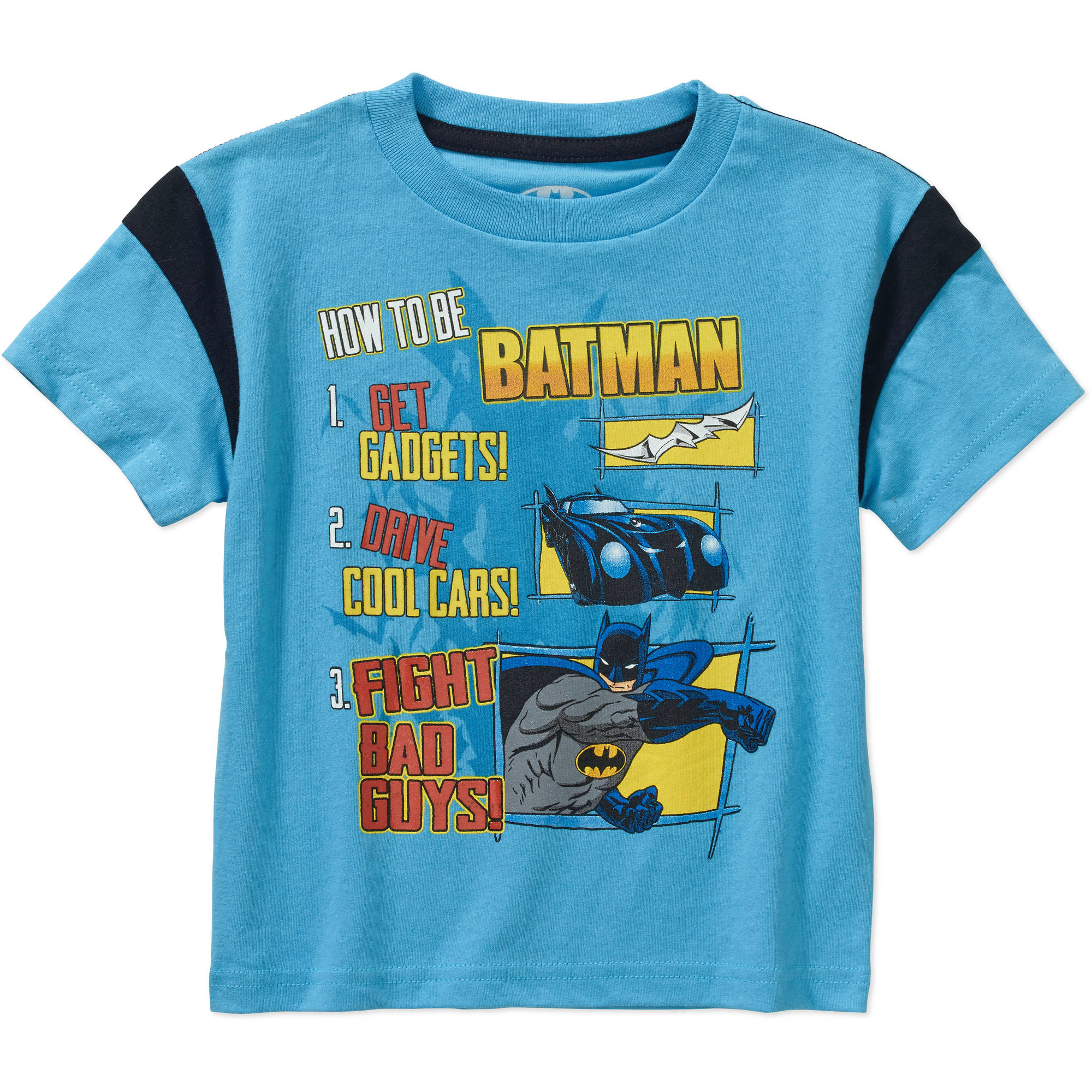 Warner Batman Baby Toddler Boy Graphic Tee Shirt