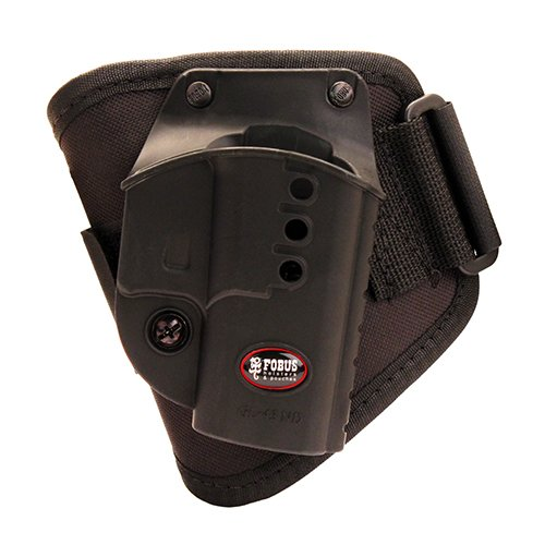GL43NDA Glock 43 Ankle Holster for Right Hand Draw, All 88 709 Left Fits KTP Conceal Handed Black Walther rig 3238 357... by