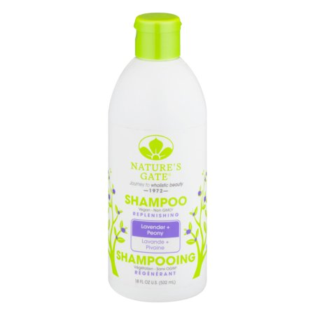 Nature's Gate Shampoo Lavender + Peony, 18.0 FL OZ (Personal Care Natures Gate)